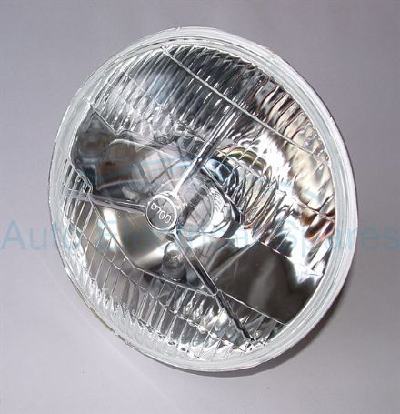 "P700 H4 HALOGEN HEADLAMP 7"" RHD + PILOT"